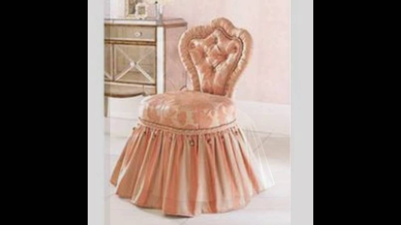 Extraordinary Vanity Chair With Skirt Pictures Exterior