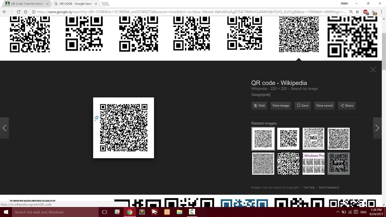 Introduction QR Code Encoding Algorithm