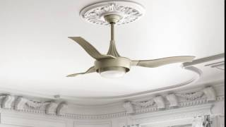 Casablanca Perseus 64 in. Indoor/Outdoor Ceiling Fan with Light and Wall Control - 59168