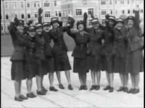 Canadian Army Newsreel - Canadian Womens Army Corps Cadets Graduate