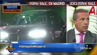 🧐🧐🧐 ¡IMAGEN EXCLUSIVA DE LA LLEGADA DE GARETH #BALE A MADRID!