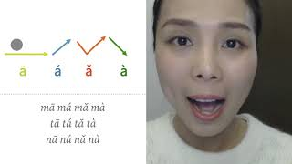 Foundation Class 103 - How to pronounce 4 tones in Pinyin?