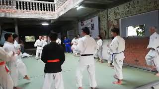 Judo Japan and Cambodia training at Oni Hifumi School