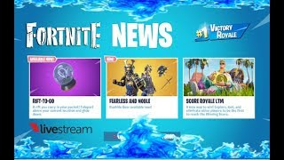 💥FORTNITE NEW RIFT-TO-GO & NEW FEARLESS & NOBLE SKIN PLUS NEW SCORE ROYALE GAME MODE💥FACECAM💥