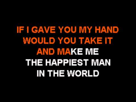(Original Karaoke) Josh Turner   Would You Go With Me (Backup)