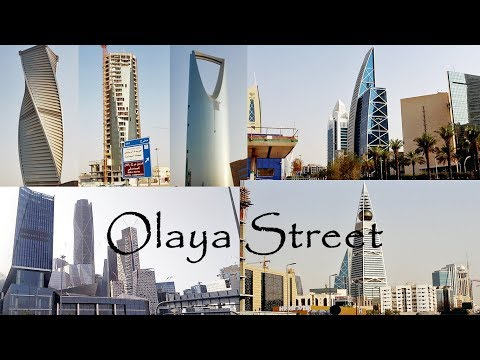 Olaya Street, Riyadh, Kingdom of Saudi Arabia
