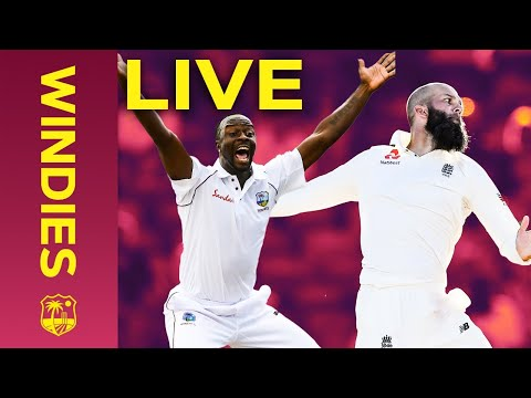 LIVE FULL Replay   Windies v England 1st Test Day 2 - 2019 - FULL DAY   Windies