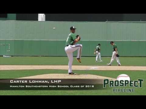 Carter Lohman, LHP, Hamilton Southeastern High School, Pitching Mechanics at 200 FPS