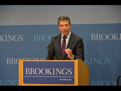 Why NATO matters to America - Speech by NATO Secretary General at the Brookings Institution