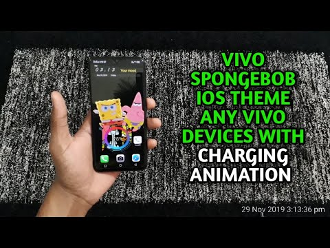 Vivo Spongebob Ios Theme With Charging Animation Any Vivo Devices