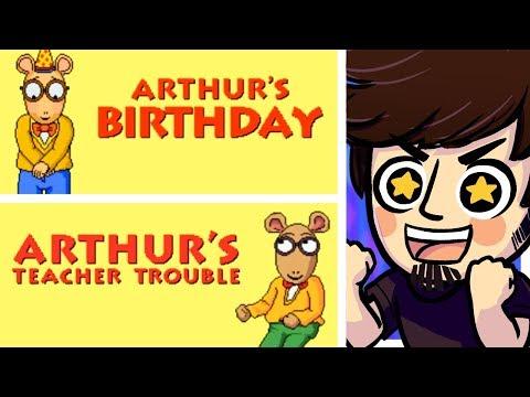 Arthur Games Arthurs Birtay Teacher Trouble B