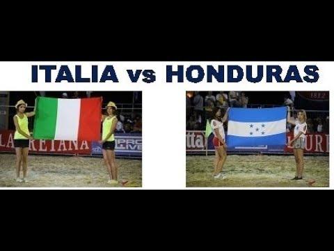 ITALIA vs HONDURAS - Mundial Beach Soccer 28/07/2017 - Porto Sant'Elpidio (FM)