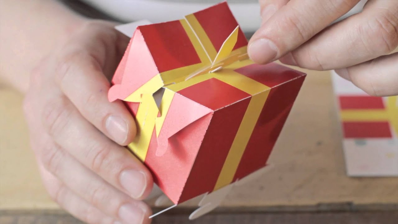 Assemble yourself 3d pop up birthday card youtube for 3d christmas cards to make at home