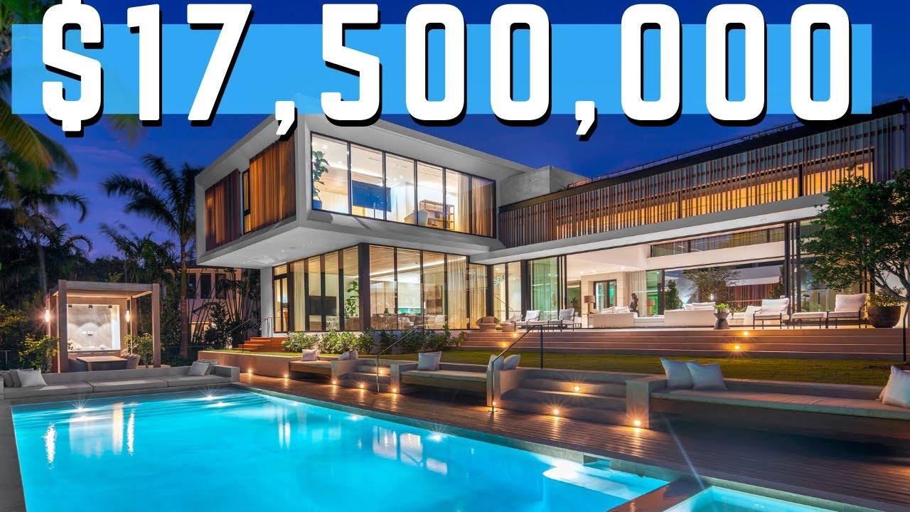 Miami Beach Fl Mansion Is Worth 17 5