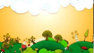 Футаж Фон Детский Анимация Круговорот видео фон для слайд шоу