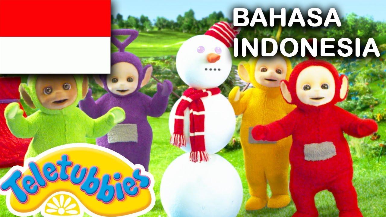 ★Teletubbies Bahasa Indonesia★ Bola Salju ★ Full Episode HD