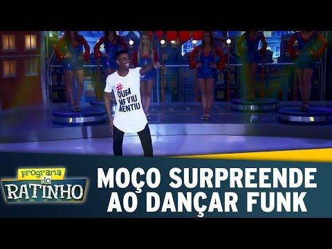 Moço Surpreende Ao Dançar Funk | Dez Ou Mil (08/05/17)