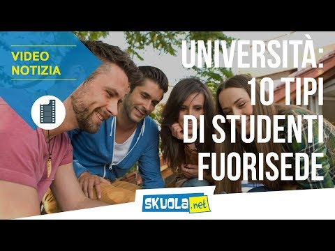 Università: 10 tipi di studenti fuorisede