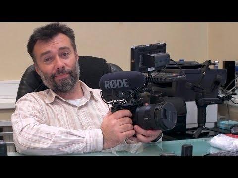 Моя основная камера Sony A7S2 и ее комплектация.