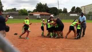 babe ruth softball 2013 southwest 8u regional
