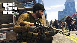 GTA 5 Zombie Apocalypse Mod #2 - SURVIVAL!! (GTA 5 Mods)
