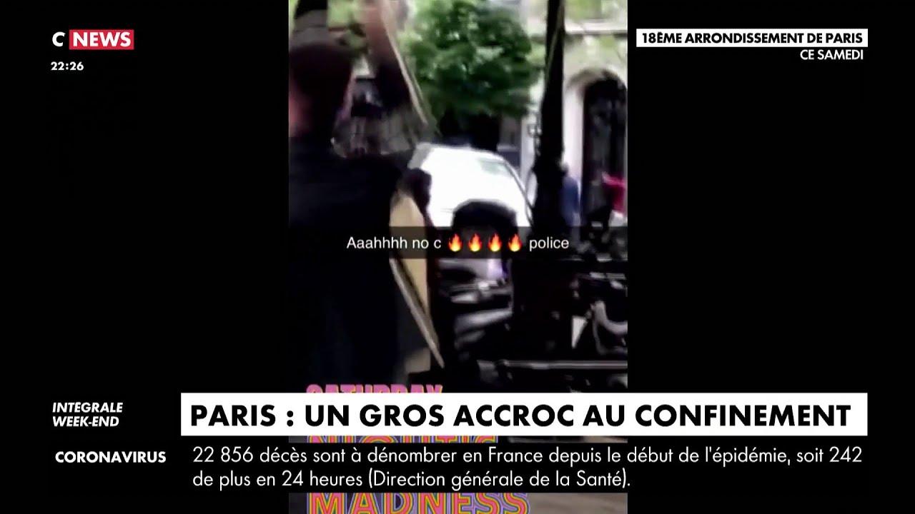 Paris : une entorse au confinement