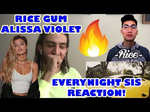 RiceGum - Its EveryNight Sis feat. Alissa Violet Official Music Video REACTION!!! thumbnail