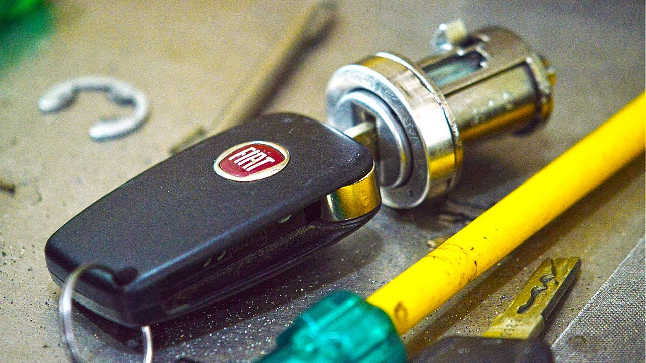 Fiat Ignition Lock Repair Youtube