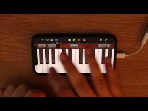 Michael Jackson - Beat It on iPhone (GarageBand)