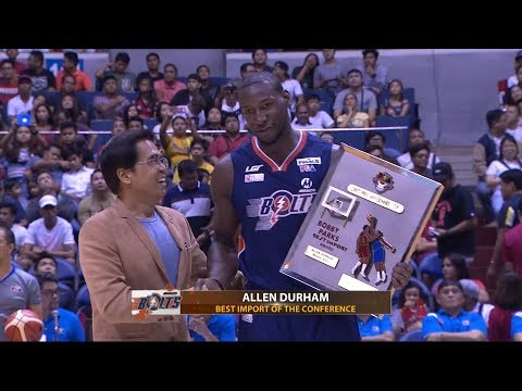 Allen Durham Grabs His Second Best Import Of The Conference Award! | PBA Governor's Cup 2017
