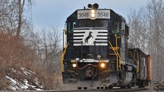 [HD] The Leslie S3L at its Finest: NS GP40-2 #3046