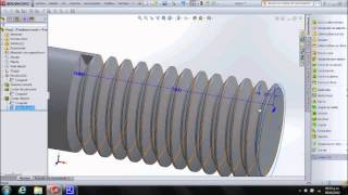 Tornillo de cabeza hexagonal en SolidWorks + (ecuaciones y tablas de diseño)