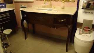 видео Мебель для ванной Bianchini&Capponi - цены, подробное описание и характеристики