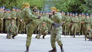 GEMPAR...!!!! Ilmu Beladiri Tentara Elit Rusia Mirip Beladiri Kopassus (pencak Silat)