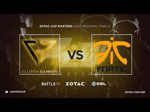 CG vs Fnatic Game 1 - ZOTAC Cup Masters SEA Qualifier: Grand