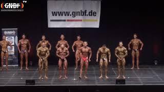 Männer Leicht-Schwergewicht 16. GNBF Deutsche Meisterschaft 2019