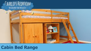 Cabin Bed Range - Charlies Bedroom