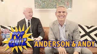 'Pop Quiz' with Anderson Cooper & Andy Cohen