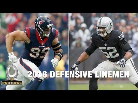 2016 Pro Bowl Defensive Linemen   NFL