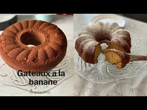 gateau-a-la-banane-facile-,-rapide-et-délicieux
