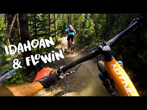 We Found Some SWEET Idaho Flow | Mountain Biking Galena, Idaho