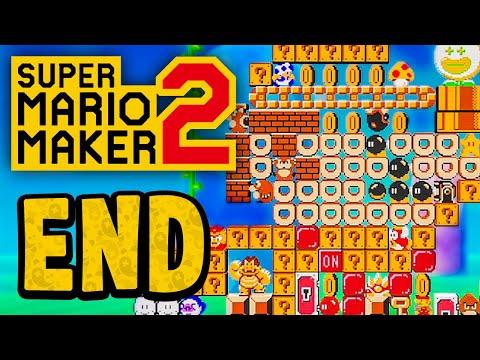 Story Mode: 100% Complete! Building a Mario Statue - Super Mario Maker 2 #5