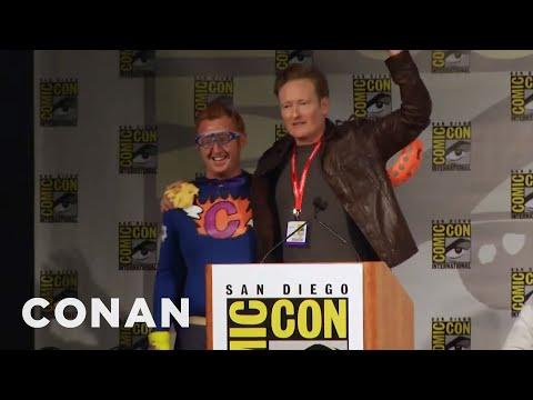 Conan Crashes Comic-Con  - CONAN on TBS