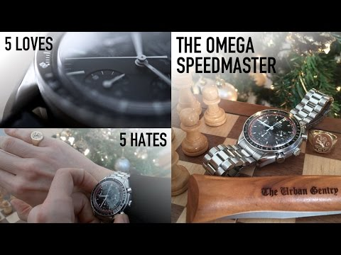 Omega Speedmaster - 5 Things I Love & Hate + Is The Reduced The Best Affordable Luxury Chronograph?