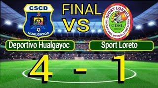 Deportivo Hualgayoc vs Sport Loreto 4-1 Resumen De goles Segunda Profesional fecha 1