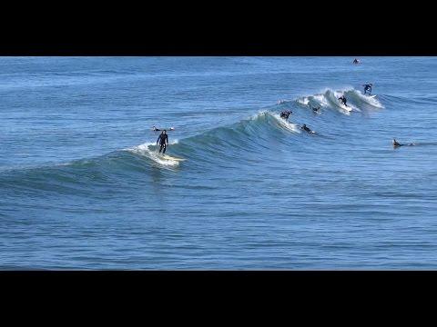 Huntington Beach, CA, Surf, 12/4/2016 - (1080p)