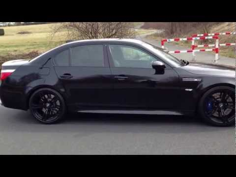 BMW M5 E60 The Black Beast