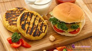 Chickpea Burger - Quick Recipe