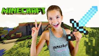 Майнкрафт видео обзор – Выживание в Minecraft для новичков со Светой! – Лучшие игры онлайн.