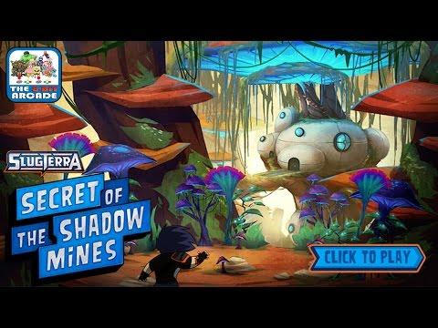 Slugterra: Secret Of The Shadow Mines - Help Eli Shane Through The Mysterious Mines (Disney Games)